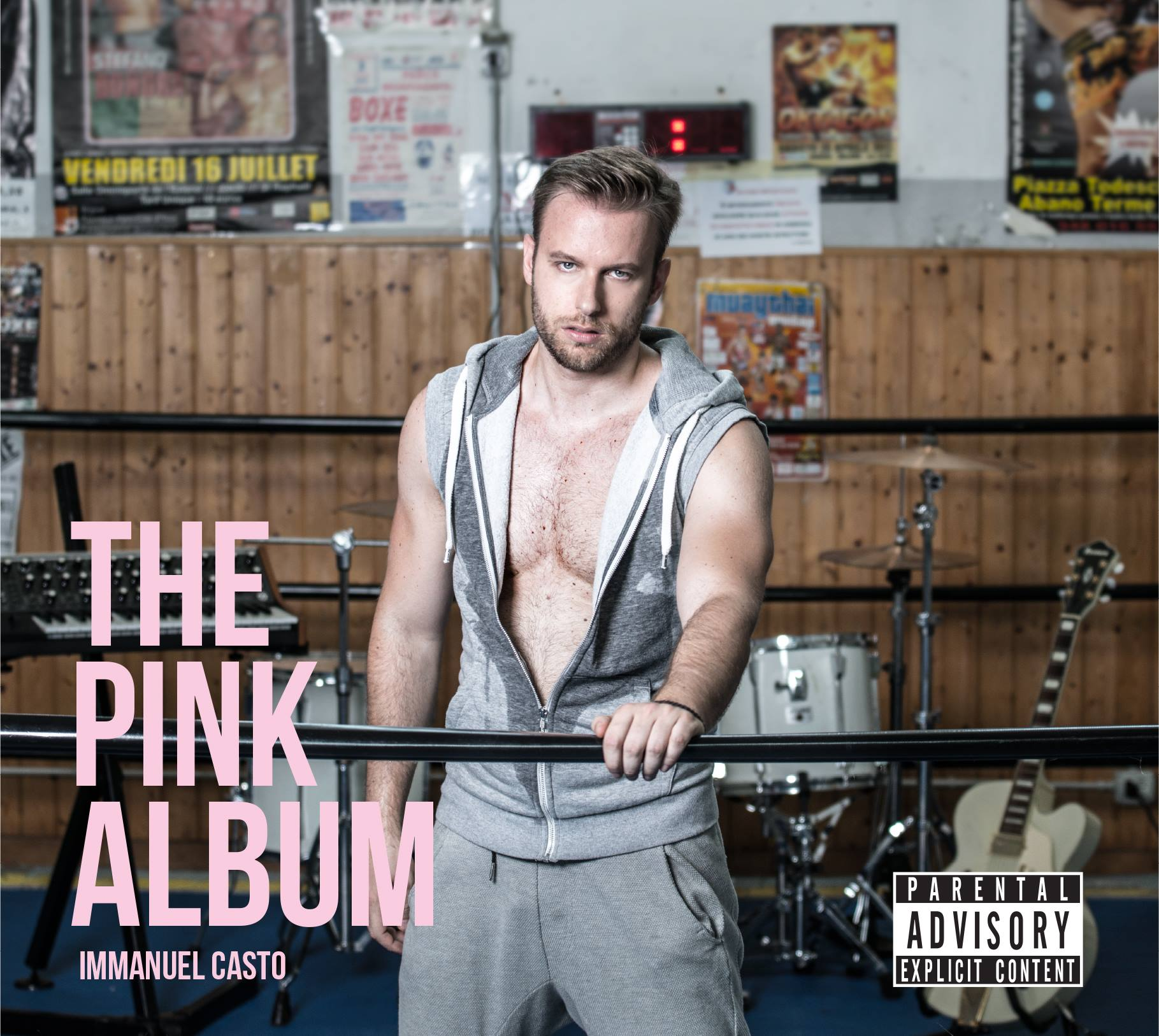 IMMANUEL CASTO esce il quarto disco di inediti 'THE PINK ALBUM'