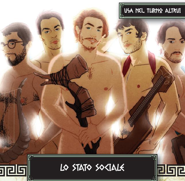 SQUILLO® Carta Speciale LO STATO SOCIALE
